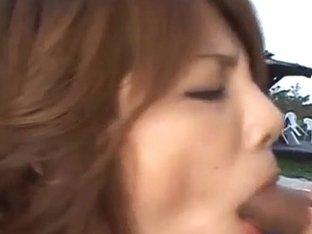 Sara Nakamura in hot action