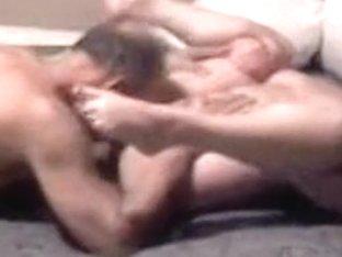 Grand-Dad gives grandma a biggest shaking orgasm