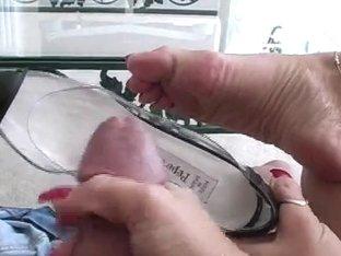 Cum in my pumps