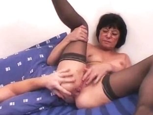 French older anal Curly