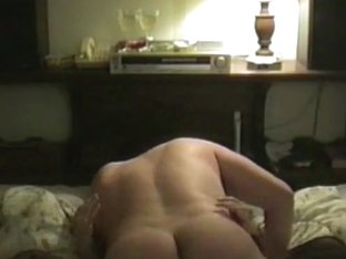 Fucking my, sexy, hairy pussy stocking wearing wife
