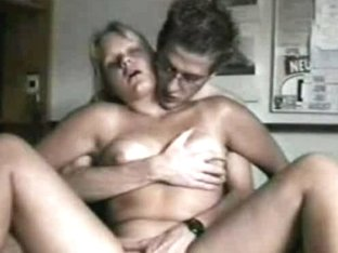 Amateur couple spending pleasant and enjoyable time in the bed