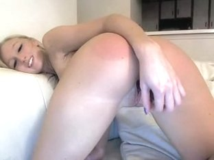 Hawt arse golden-haired has a fake ramrod