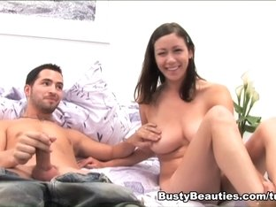 Horny pornstar in Incredible Brunette, Big Tits porn video