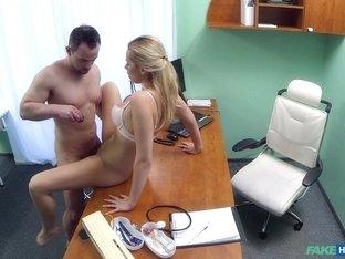 Fabulous pornstar in Crazy Blonde, Medical adult scene