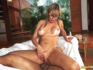 Best pornstars Mirella Mansur, Tony Tigrao in Fabulous Latina, Brazilian xxx clip
