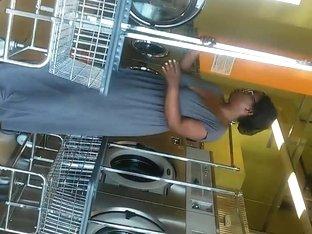 Ebony saggy tit milf