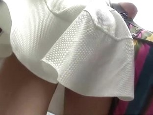 Upskirt creepshot of hot woman
