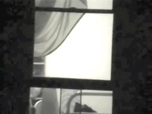 Real window voyeur erotic with my seducing nude neighbor