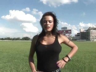 Best pornstar in hottest striptease, big tits adult scene