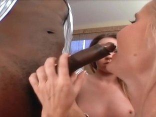 Hottest pornstars Gina Rome and Brittany Kane in horny threesome, blonde adult movie