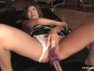 Incredible fetish sex video with best pornstar Maya Aikawa from Fuckingmachines