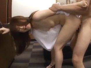 Crazy Japanese model Nozomi Kohara, Yua Yoshikawa, Nozomi Osawa in Fabulous Doggy Style, Hairy JAV.