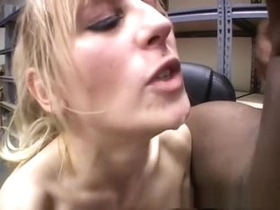 Hottest pornstar in exotic blonde, blowjob sex clip