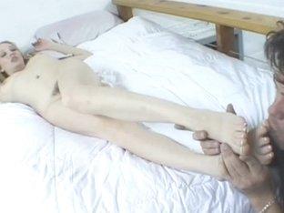 FemdomFootFetish Video: Nothing But a Pair of Heels