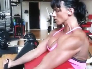 Cindy Landolt swiss muscle
