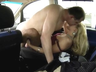 CZECH DOXY - Real WENCH Receive Paid for Sex betwixt Trucks