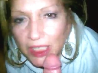 Cheating Wife Oral-Stimulation With Cum In Face Aperture