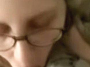 Glasses wife oral-stimulation drink