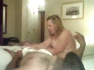 wide big beautiful woman older sucks off a younger fellow