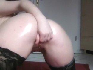Very hot busty blonde needs to cum