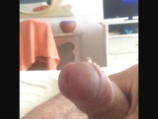 My Uncut Foreskin Jerkoff Cock with Cum - Compilation