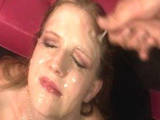 Hottest pornstar Laci Laine in horny facial, interracial porn clip