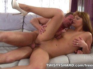 Exotic pornstar in Hottest Hardcore, Blonde adult video