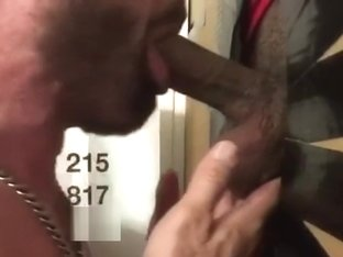 Uncut Island King Serviced at Philly Gloryhole
