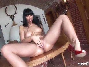 Exotic pornstar in Horny Brunette, German sex movie
