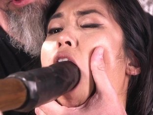 Mia Li  The Pope in Brutal Hair Suspension, Grueling Bondage, Torment, And Orgasms - HogTied