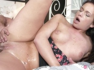 Incredible pornstars Natalie, Chrissy Curves, George in Fabulous Cumshots, Small Tits xxx movie