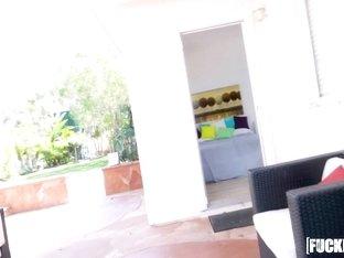 Davina Davis, Hadley Viscara In Angry Roommates Share Big Cock