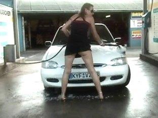 Wet At The Carwash