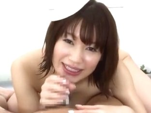 Amazing Japanese slut Riko Honda in Incredible POV, Handjobs JAV movie
