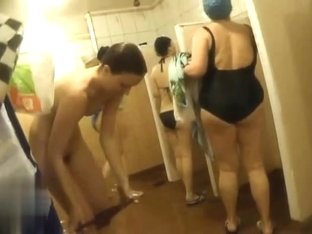 Hidden cameras in public pool showers 878