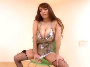 Best Japanese model Hitomi Tanaka in Incredible Stockings/Pansuto, Solo Girl JAV video