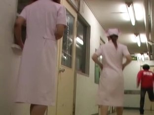Best sharking scenes with man that has caught cute nurse