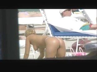 Topless Thong Bikini 04