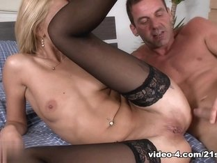 Incredible pornstar in Exotic Blonde, Stockings adult clip