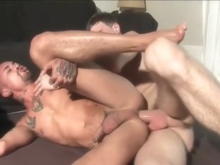 Crazy male in exotic big cocks, cum shots homo sex clip