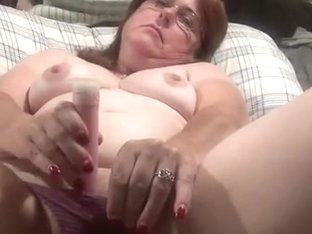 Mature cum panties