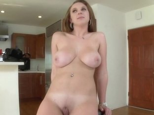 Amateur Brunette With Big Natural Tits and...