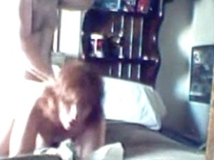 Red head wife on homemade sex tape