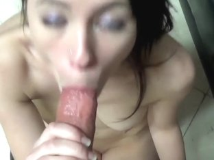 Giving Her My Celebrated BJ tips to Deepthroat