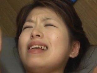 Riko Araki in school uniform classroom group fuck