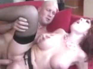 Wild MILF sucking a young cock before fucking it hard