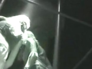 My night upskirt video of dancer girls in a party cage above