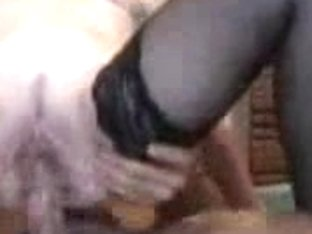 Gorgeous chick was anally fucked in the amateur fetish clip