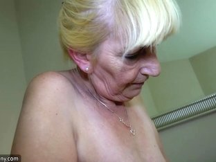 OldNanny Young girl masturbate and licking
